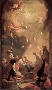 """Dorffmaister, István. """"Pentecost"""" (1782)"""