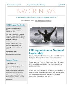 NWCRINewsletter 7-12-2014